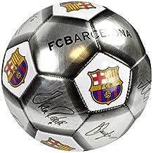 F.C. Barcelona Fútbol signature Plata (SV) Tamaño 5