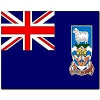 Isole Falkland bandiera 25,4x 20,3cm preforata Metal Sign 069