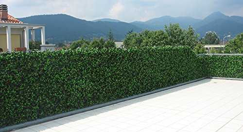 Photinia siepe artificiale per balcone recinzione 01 for Siepe artificiale per balconi