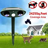 Generic Greathouse Ultrasonic Solar Power Cat Dog Repeller Outdoor Garden Infrared Sensor Animal