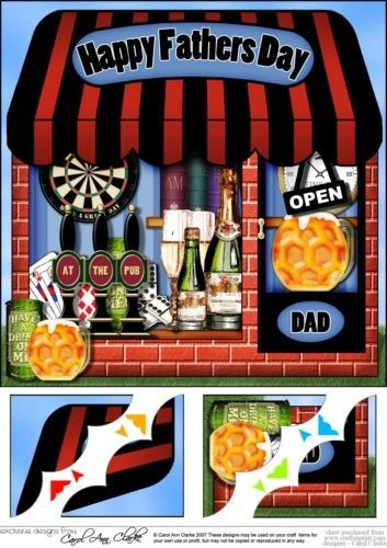 8-x-8-the-little-last-drop-inn-fathers-day-topper-by-carol-clarke