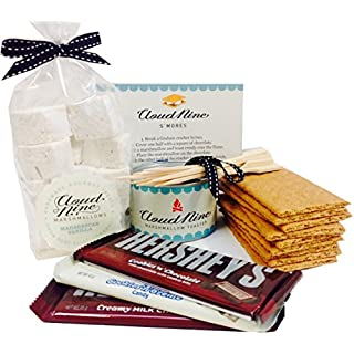 Luxury Marshmallow S'mores Kit - with award-winning marshmallows and mallow toaster