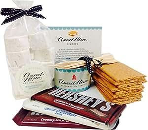 Luxury Marshmallow S'mores Kit - with award-winning marshmallows and mallow toaster
