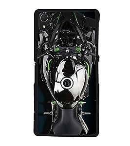 PrintVisa Designer Back Case Cover for Sony Xperia Z2 (5.2 Inches) (Bike Motor Cycle Sports bike)