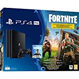 Sony PS4 Pro 1TB + Fornite 1000GB Wi-Fi Black - Game Consoles (PlayStation 4 Pro, 8196 MB, GDDR5, GDDR5, AMD Jaguar, AMD Radeon)