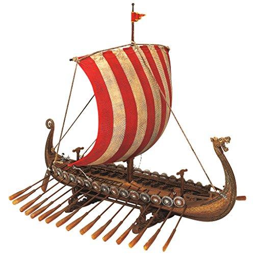 Design Toscano Sammlerstück Drekar, Das Wikingerlangschiff, Museumsreplika
