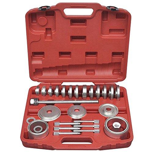 MCTECH® 31-tlg Radlager Abzieher Radlagerwerkzeug Montage Werkzeug Satz inkl. Transportkoffer