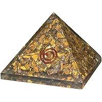 Crocon Tiger Eye Reiki Healing Energetische Pyramide Edelstein Energie Generator für Chakra Balancing Aura Cleansing... preisvergleich bei billige-tabletten.eu
