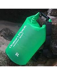 upxiang PVC Sacs, utilisable en extérieur trockener Sac étanche, Sac étanche pour sport de natation de rafting Kayaking la voile