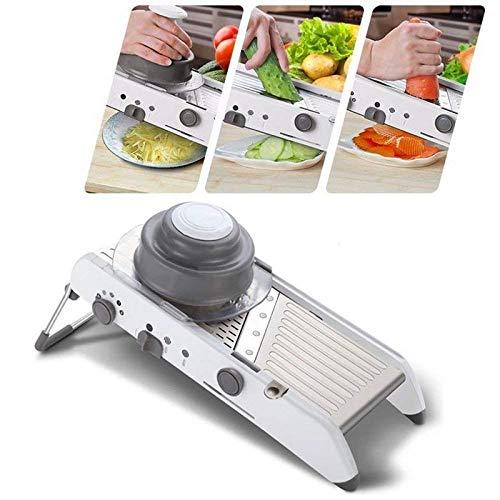 By Piyuda Multi-Purpose Vegetable Grater & Vegetable Slicer Adjustable Mandoline Slicer Cutter Food Slicer & Peeler