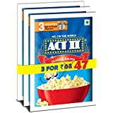 Act II Popcorn IPC Classic Salted Combo Pack, 60g (Pack of 3)