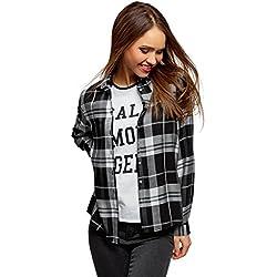 23a66e7cc5d5a6 ▷ Blusas de Cuadros 💄 | Camisas de Cuadros Mujer | Baratas | RdC.com