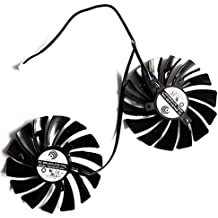2 Pcs/lot PLD10010S12HH DC 12V 0.4A 4Pin Carte Graphique Fan For MSI GTX960 GTX950 R9 380 R9 390/390X GAMING Graphics Card Fan