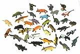 Miniblings 34x Wildtiere wilde Tiere Tierfiguren Aufstellfiguren kleine Räuber