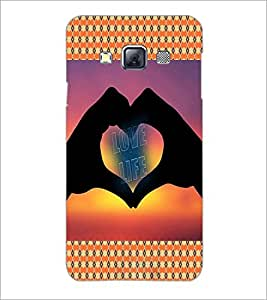 PrintDhaba Quote D-4569 Back Case Cover for SAMSUNG GALAXY A3 (Multi-Coloured)