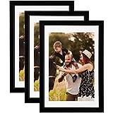 Lot de 3 cadres photo Galeria 20x30 cm (Noir)