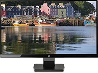 "HP 27W - Monitor de 27"" (Full HD, 1920 x 1080 pixeles, Plug and Play, IPS, HDMI, VGA, 1000:1, 16:9), Color Negro (B0764HDSXF) 