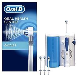 Oral-B OxyJet Reinigungssystem, mit innovativer Mikro-Luftblasen-Technologie, 4 Aufsteckdüsen