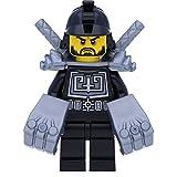 LEGO Ninjago Minifigur Karlof (70756) mit Gorillafäusten und 2 GALAXYARMS Schwertern