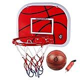 Basketballkorb, Anna Shop Mini Basketball Set Indoor Outdoor Schießen Spielzeug Hängenden Basketballkorb Set fürs Zimmer mit Ball und Pumpe für Kinder