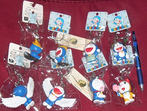 YC 6 Doraemon Doraemon portachiavi bambola famiglia portachiavi ornamenti ritratto regalo il giorno di Capodanno San Valentino ,