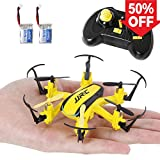 SGILE 2.4 GHZ 6-AXIS Mini RC Hexacopter Gyro Drone with 360 Rotating Headless Mode Altitude Hold Mode Yellow (2 Batteries Included) from SGILE