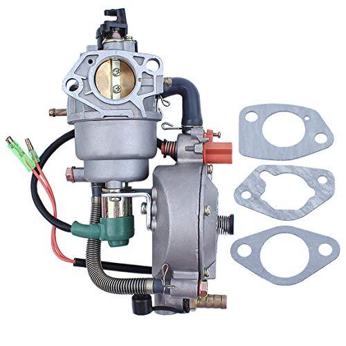 Auto Choke Dual Kraftstoff Vergaser Carb Dichtung für Honda GX390 Chinese 188F 190F 4.5-5.5KW Motor Motor Generator LPG/CNG/Benzin Lpg-generator
