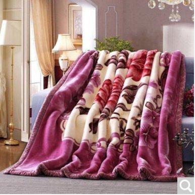 BDUK Die Decke Ultra-Soft-Schneiden dicken Wolldecken,E,200*230cm Im Herbst und Winter.