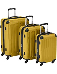 HAUPTSTADTKOFFER - Alex - Set of 3 Hard-Side Luggages Glossy,
