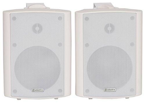 Preisvergleich Produktbild QTX BC5A Paar Wand-Lautsprecher weiss 30W RMS