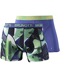 Boxer Simons/Sido Messieurs 2-Pack Check/uni Multi Camo/Blue