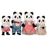 Sylvanian Families - Familia de osos panda (4 figuritas)