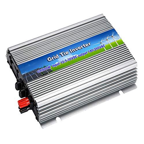 H HILABEE 600W Solar-Wechselrichter, MPPT Pure Sinus-Wechselrichter Für Solarpanel