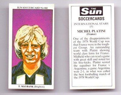 sun-soccercard-no-868-brighton-hove-albion-teddy-maybank-football-trade-card
