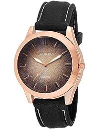 Laurels Light Black Color Men's Watch- LMW-LIGHT-020205