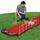 Wasserrutschbahn 5m rot Wasserbahn Wasserrutsche für Kinder