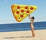 Nabotht gonflable Pizza piscine flottant Lit