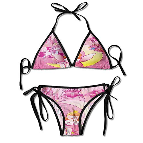 HLKPE Bikini Wax Kit Microwavable with Wings Sitting On The Printing Bikini for Women