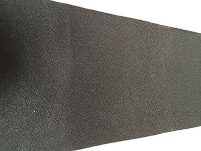davtus XXL Griptape für Skateboard oder Longboard 23 x 120 cm schwarz