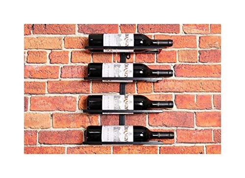Weinregaldekoration kreativer Wein Wand hängen Weinflasche Rack Wohnzimmer Wein Kabinett Weinflasche Regal Schmiedeeisen-Ausstellungsstand (größe : L27*h38cm) - Eine Einzige Flasche Wein-rack