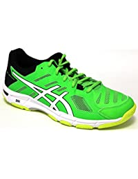 Asics Zapatillas Voleibol Hombre – Gel Beyond 5 – b601 N-8501 – Green Gecko/White/Safety yellow-41.5