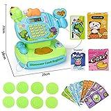 Hokly Pretend Geschenk-Set, Kinder Spielzeug Supermarkt bis Kasse, Shop Till Rolle Play Fun Spielset für Kinder Jungen Mädchen Alter 3 Jahre und älter (Grün)