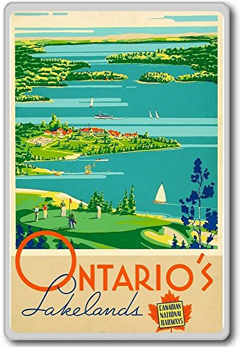 ontarios-lakelands-canadian-national-railways-vintage-travel-fridge-magnet-calamita-da-frigo