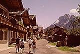 580064 Bavarian Alps Garmisch Partenkirchen A4 Photo Poster