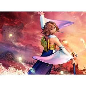 Final Fantasy 10 (19inch x 14inch / 48cm x 35cm) Silk Print Poster - Soie Affiche - 0C5423