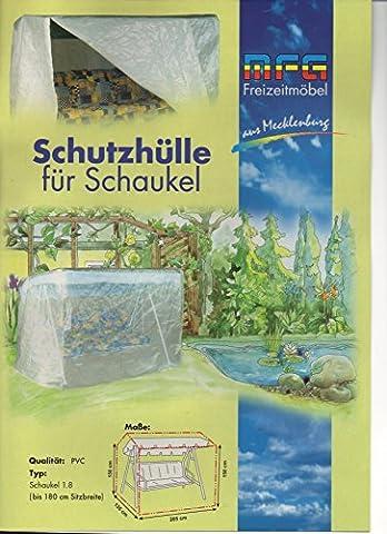 Deluxe PVC Schutzhülle mit Reißverschluß für eine Gartenschaukel von MFG,