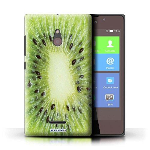 Kobalt® Imprimé Etui / Coque pour Nokia XL / Fraise conception / Série Fruits Kiwi