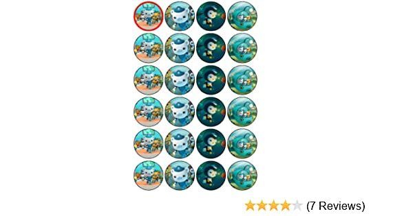 24 Oconauts Cupcake Toppers by Coyote Party and print