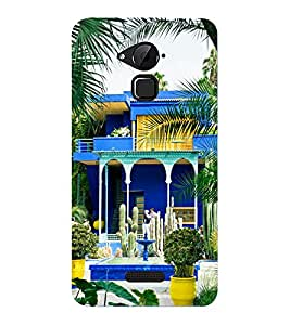 Mental Mind 3D Printed Plastic Back Cover For Coolpad Note 3- 3DCOOLPADNOTE3-G1912