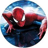 Tortenaufleger Spiderman 3 mit Wunschtext/Ø 20 cm